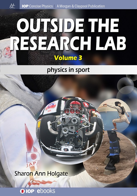 Front cover of Outside the Research Lab volume 3 Physics in Sport