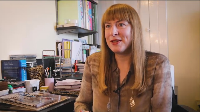 Still from interview about Outside the Research Lab volume 2