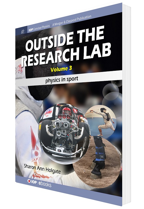 Front cover of Outside the Research Lab volume 3 in 3D effect