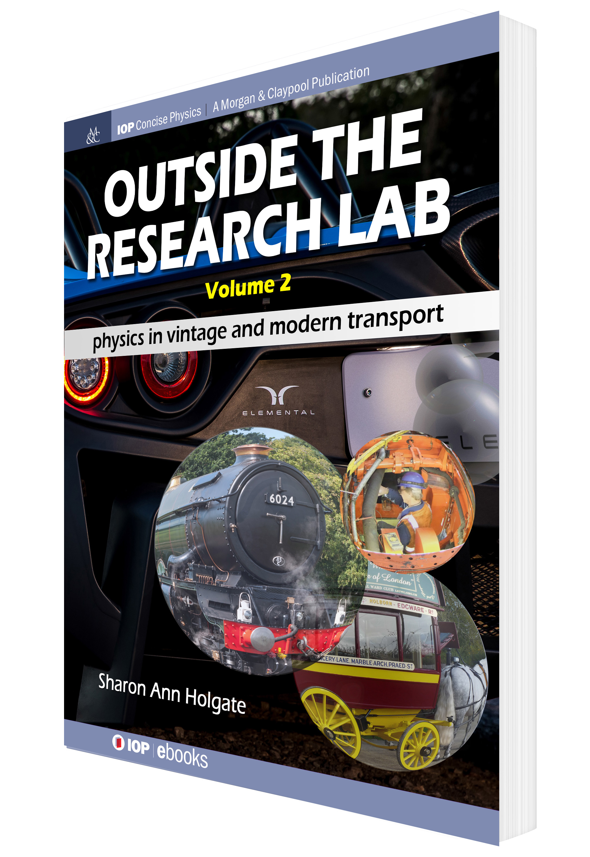 Front cover of Outside the Research Lab volume 2