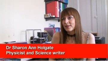 Still from video interview about the first edition of Understanding Solid State Physics