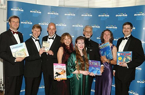 The shortlisted authors for the Junior Prize