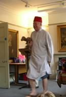 Tony with the camel