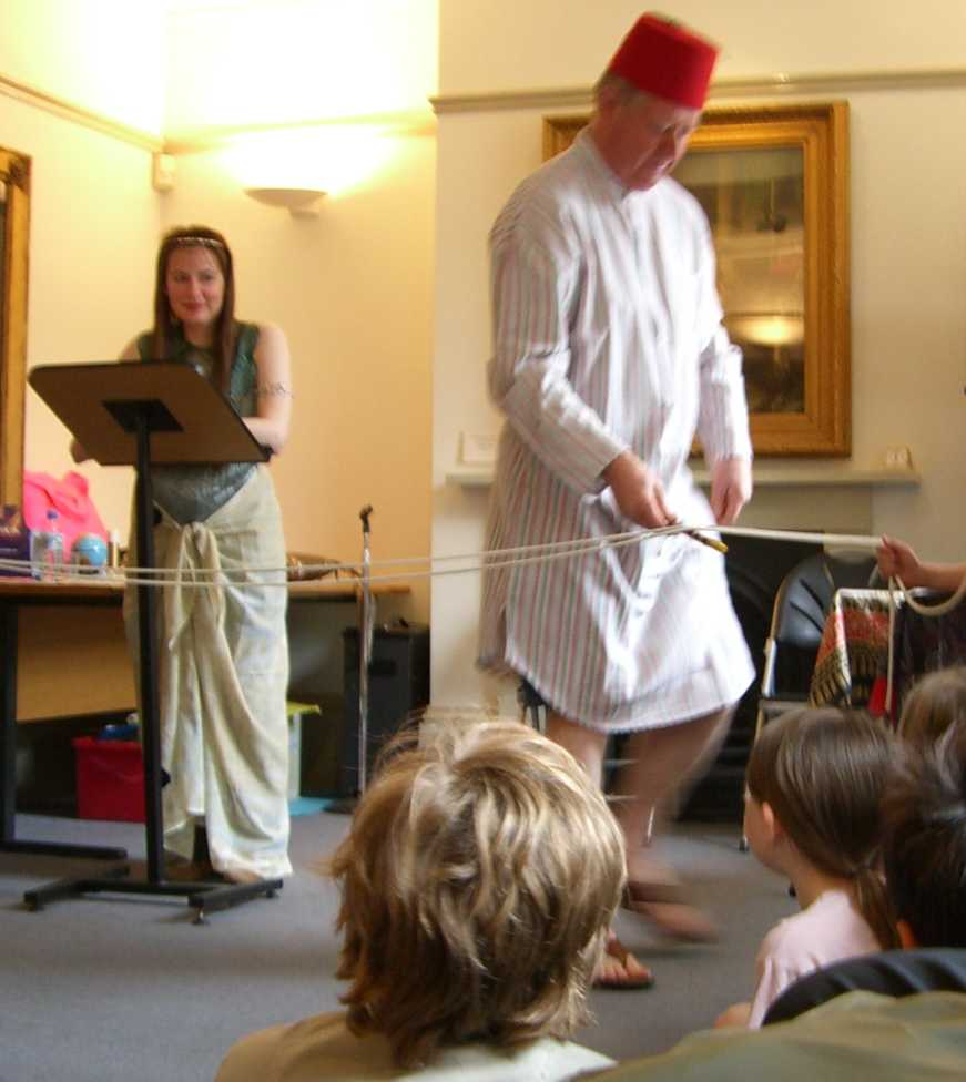 Sharon Ann and Tony performing at The Jewish Museum